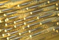 Welding electrodes Stock Photos