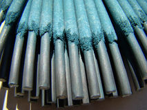 Welding electrodes Stock Image