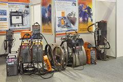 Welding equipment Stock Images