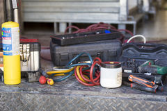 Welding gear Royalty Free Stock Photography