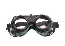 Welding glasses close up. Stock Image