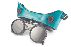 Welding glasses Stock Photo