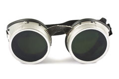 Welding goggles Stock Photo