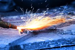 Welding Gun Stock Photography