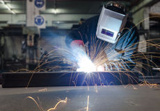 Welding Industry Royalty Free Stock Image