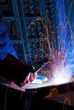 Welding iron Royalty Free Stock Images