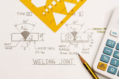Welding Joint Stock Photos