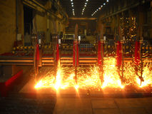 Welding machine Royalty Free Stock Photos