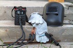 Welding machine and equipment stock photos