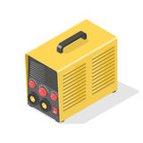 Welding machine Icon. Welding machine Icon isolated on white. Isometric vector illustration Royalty Free Stock Images