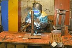 Welding man Royalty Free Stock Photo
