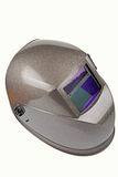 Welding mask. Isolated image of a high quality welding mask Stock Photo