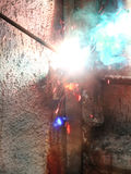 Welding  metal  electric Stock Photos