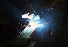 Welding Of Metal Stock Photography