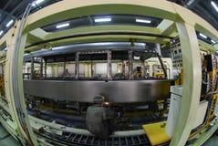 Welding operator 6. Welding operator is working on factory 6 Stock Photo