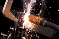 Welding Repair Stock Photo