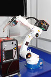 Welding robot Stock Image