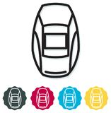 Welding Safety Helmet Icon. As EPS 10 File Stock Images