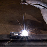 Welding scenery Royalty Free Stock Image