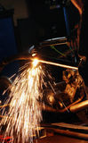 Welding Sparks Stock Photography