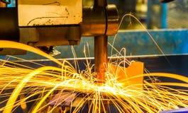 Welding Spot machine Stock Photos