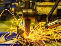 Welding Spot machine Stock Photography