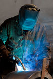 Welding Steel royalty free stock photography