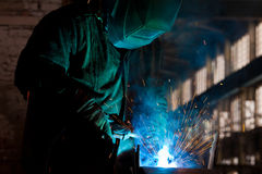 Welding Steel Stock Image
