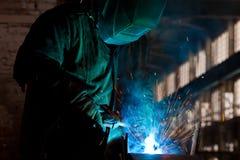 Welding Steel Stock Image