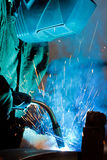 Welding Steel Stock Photography