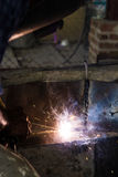 Welding steel Stock Images