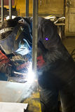 Welding steel Stock Images