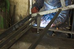 Welding structure Stock Photo