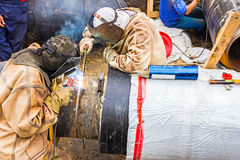 Welding team Royalty Free Stock Photo