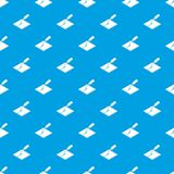 Welding torch pattern vector seamless blue. Repeat for any use Stock Image