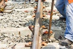 Welding tracks. Stock Images