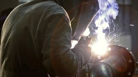 Welding stock video