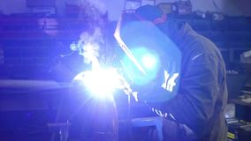 Welding stock video footage