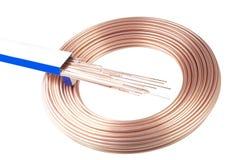 Welding wire stock image