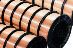 Welding wire Stock Photos