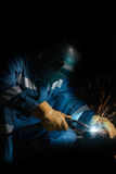 Welding work Royalty Free Stock Image