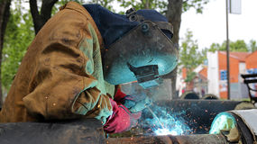 Welding Work Stock Photos