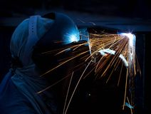 Welding work. Stock Photography