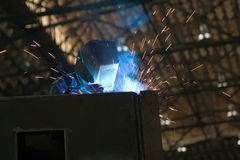 Welding Worker Stock Image