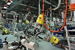 Welding workshop stock images