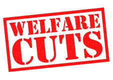 WELFARE CUTS Royalty Free Stock Photos