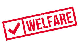 Welfare rubber stamp Stock Photo