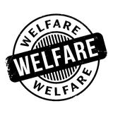 Welfare rubber stamp Stock Images
