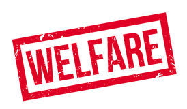 Welfare rubber stamp Royalty Free Stock Photo