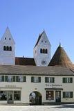 Welfenmuenster i Steingaden, Bayern Royaltyfri Fotografi